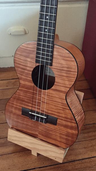 homemade guitar stands dan loves guitars. Black Bedroom Furniture Sets. Home Design Ideas