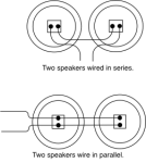 speaker wiring in series or parallel