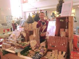 Unitarian Church Christmas craft stalls