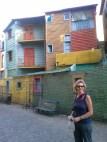 Colorful buildings in Boca
