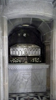 Saint Jame´s Crypt, in the Cathedral Santiago de Compostela