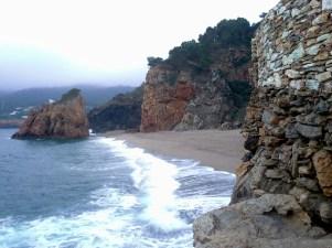Beach near Sa Riera