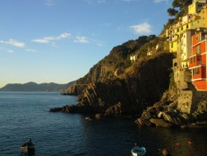 Looking North from Riomaggiore