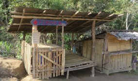 A shrine where the local people make offerings in the traditional way