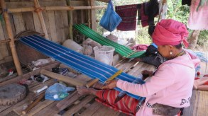 More weaving in a more social setting