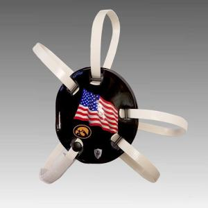 iowa flag wrestling headgear danmar warrior image