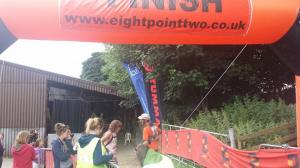 At the finish