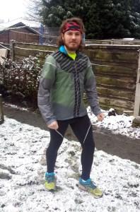 Snow Shmow... I'm running today!