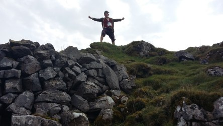 Running from Manchester to Mordor in Germany as a hobbit.