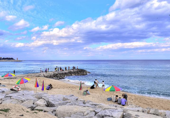 BTSチュムンジン海水浴場