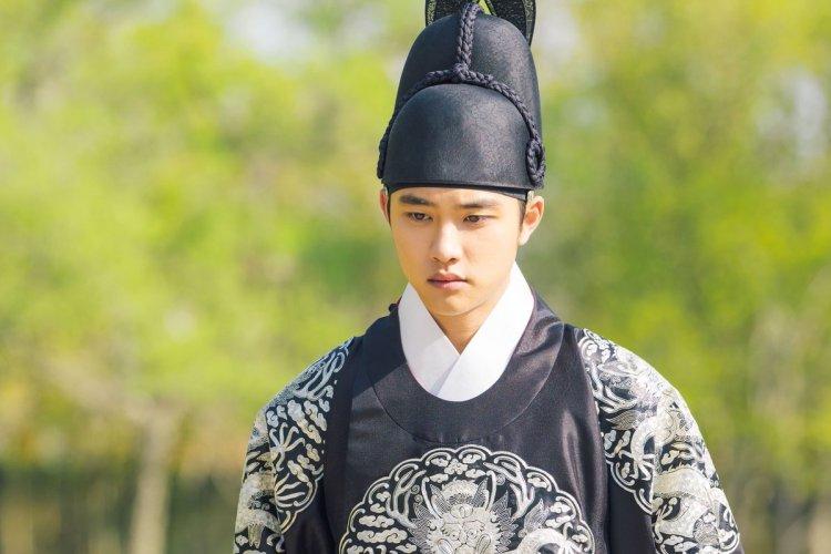 tvN「100日の朗君様」EXOディオ(ド・ギョンス)の皇太子姿