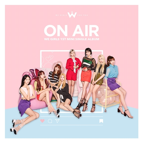 We Girls 1st シングル「ON AIR」