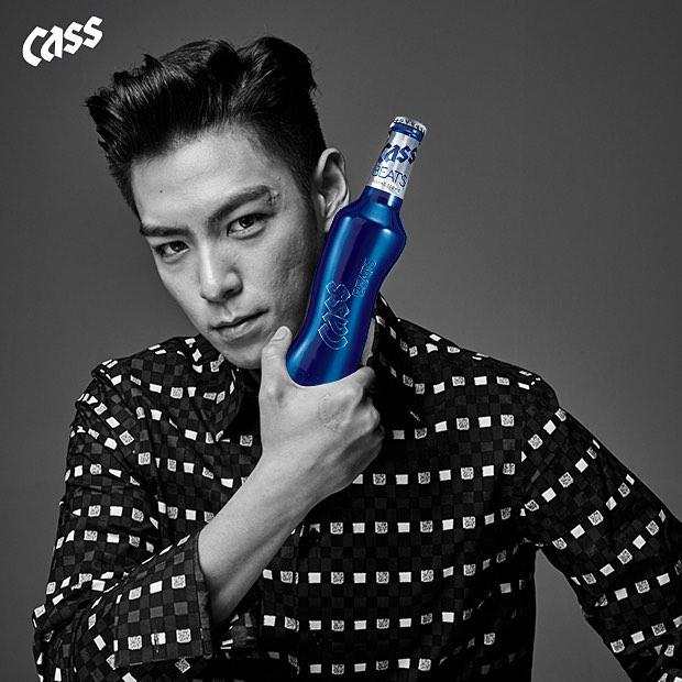 BIGBANG TOPもモデルを務めたビールメーカー