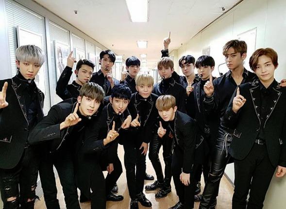 韓国人気アイドルグループ SEVENTEEN
