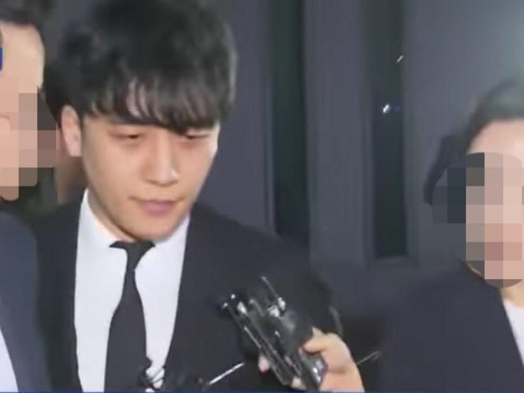 先日逮捕が棄却された元BIGBANGメンバーのV.I