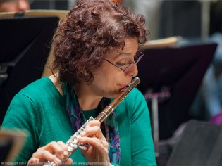 Flutist Maria Tamburrino