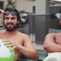 Watch: Hot Australian Brothers Get Raw and Naked