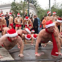 Sunday is San Francisco's Annual Santa Skivvies Run