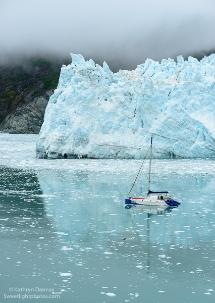Catamaran at Margery Glacier