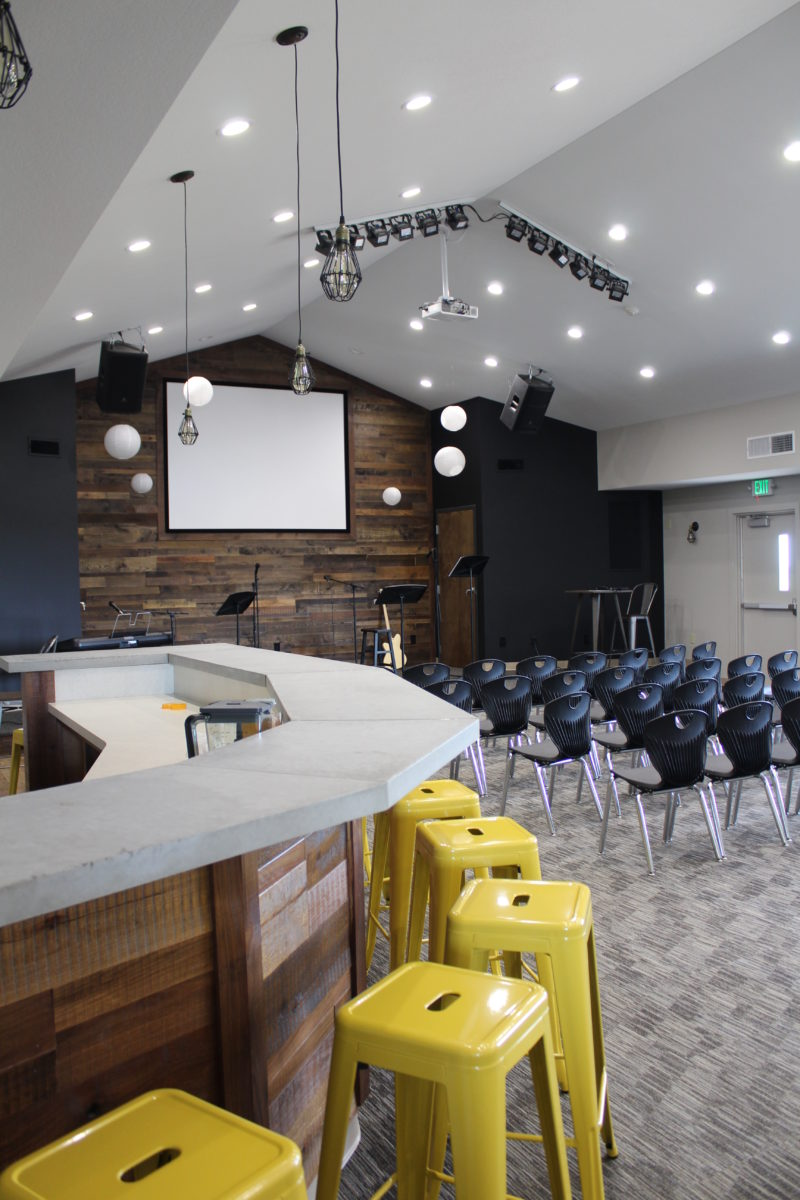Youth Group Coffee Bar & Worship Space