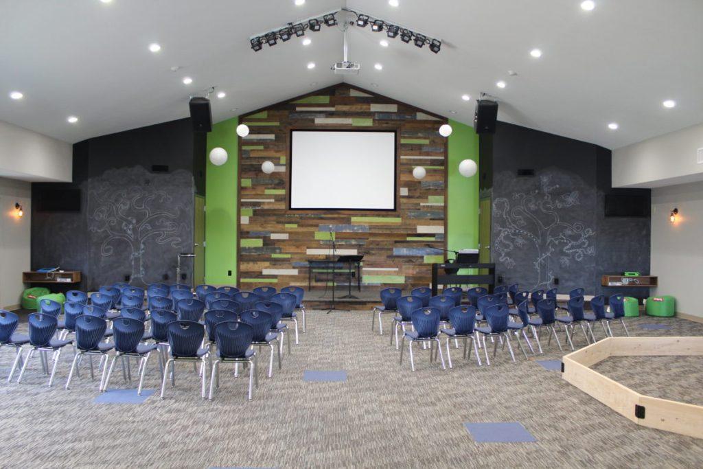 Kids Worship Stage