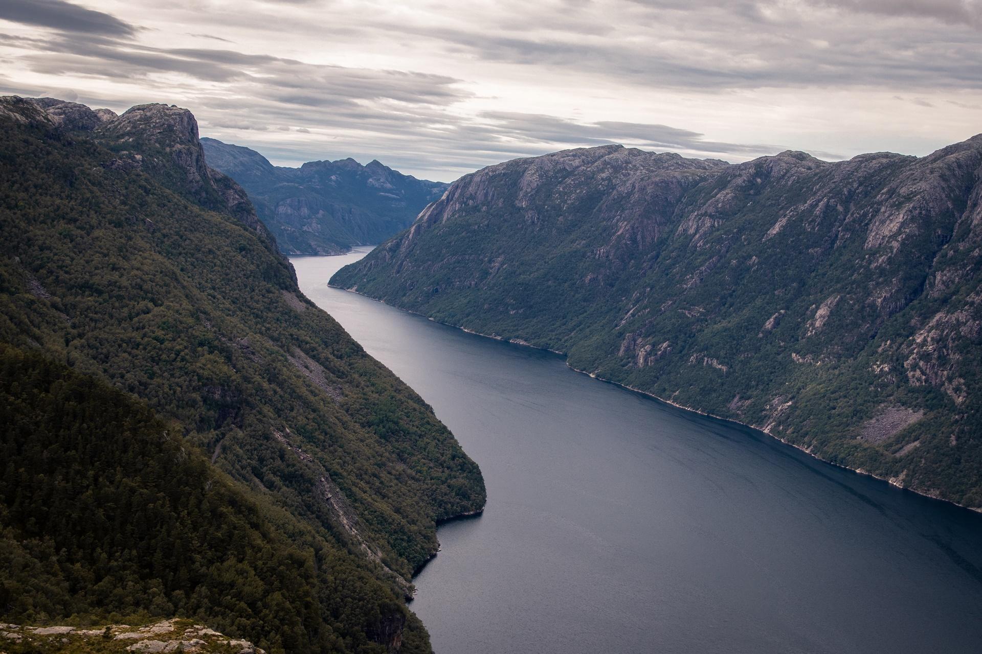 traveling fjord Norway