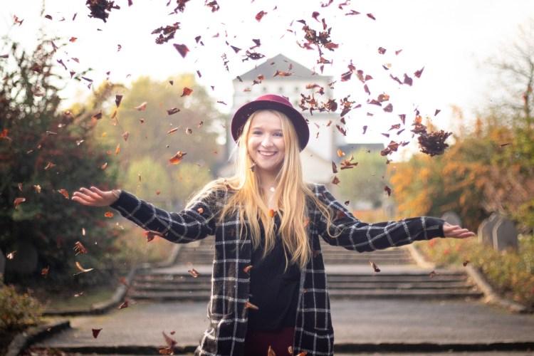 Fotoshootings für Einzelpersonen, Outdoorshooting, Herbstshooting