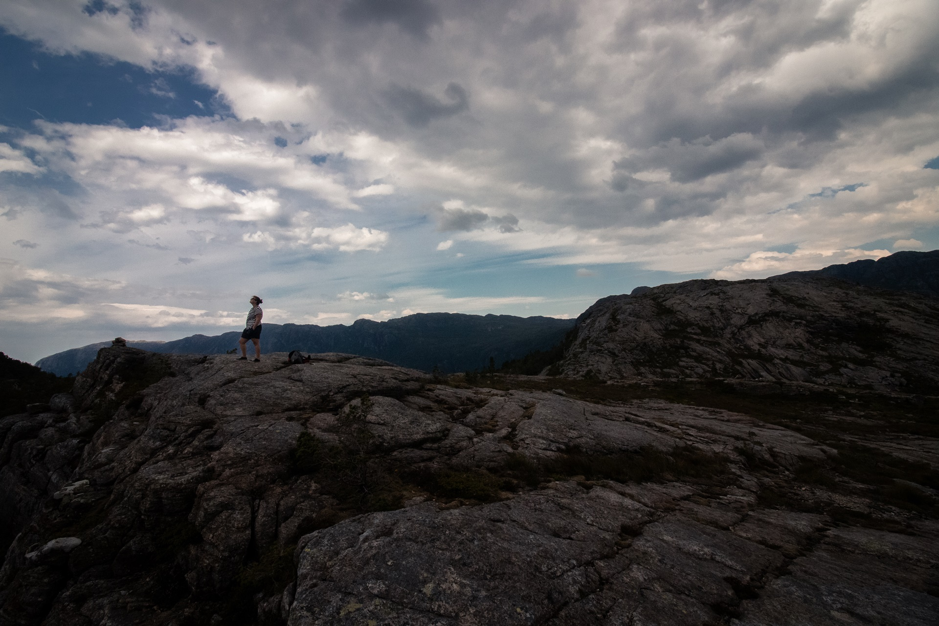 traveling mountains Norway