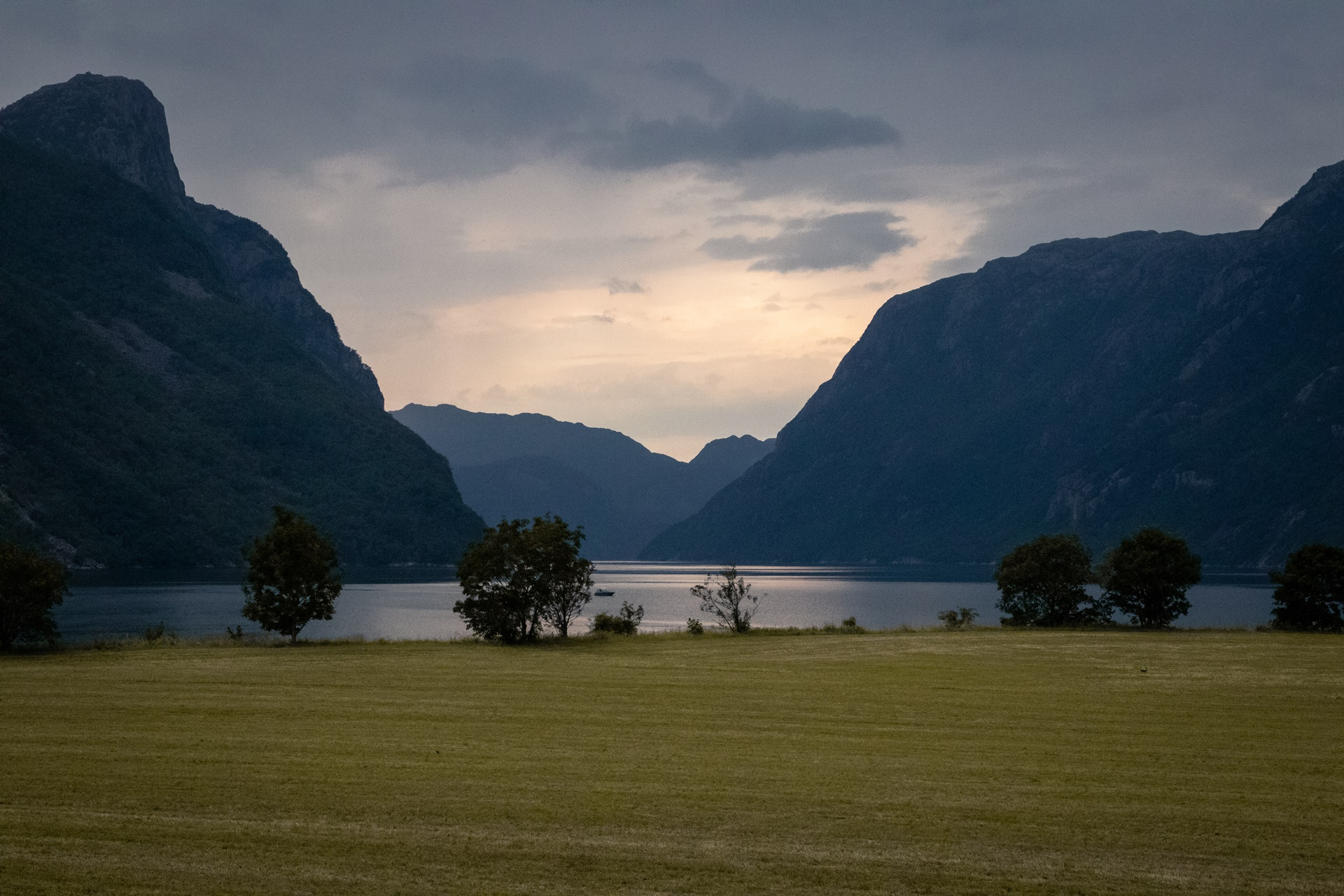traveling fjord blue Norway