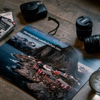 Norwegen Wandkalender