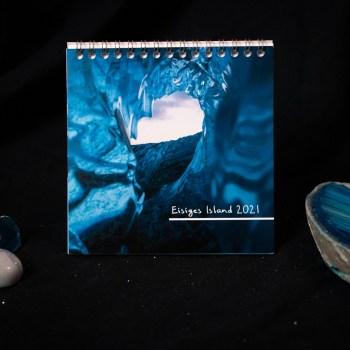 Tischkalender 2021: Eisiges Island