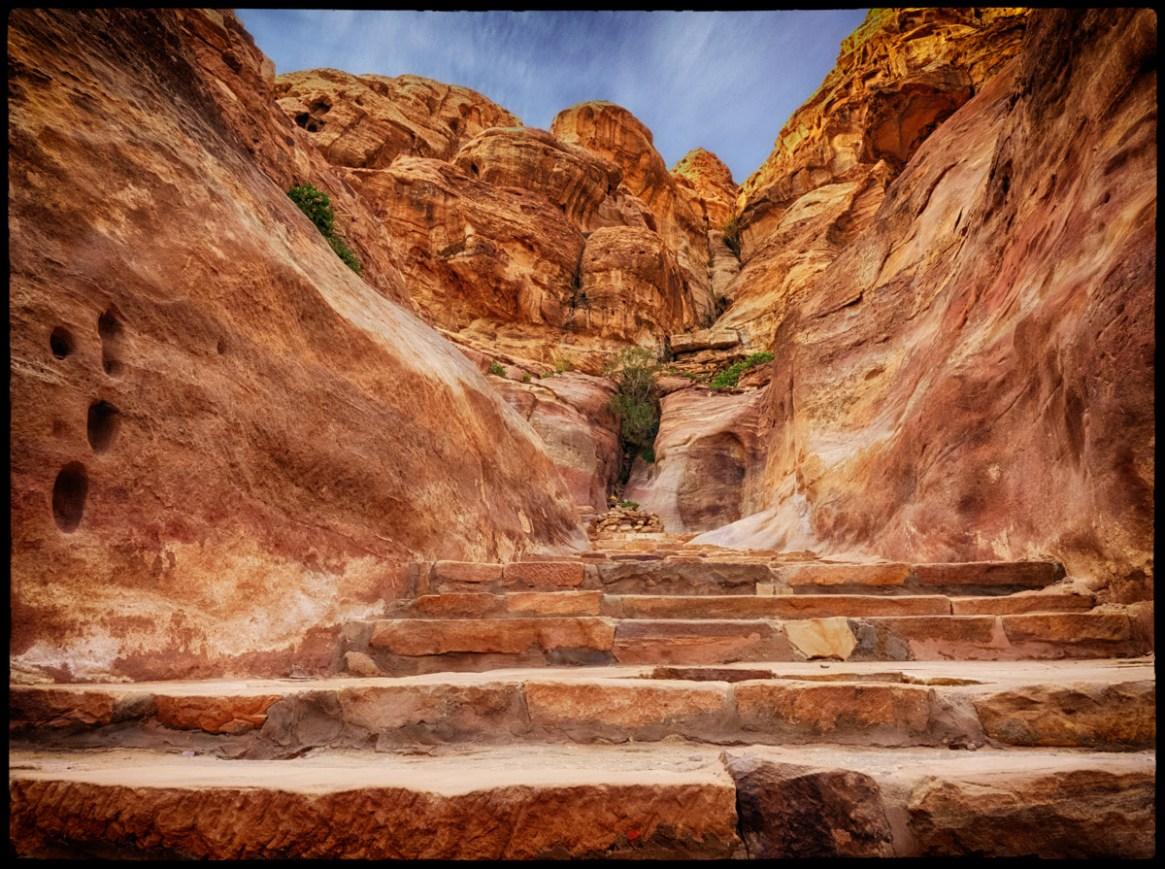 Petra, Jordan.  Foto Dan Nielsen©