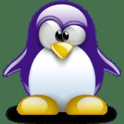Purple Tux