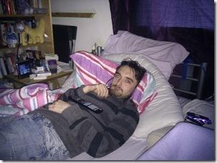 Johan in Bed