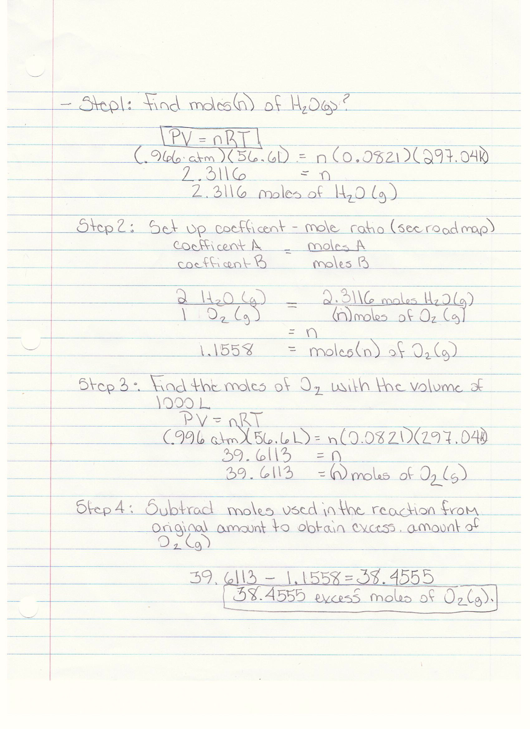 Gas Law Examples