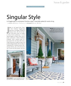 Magazine Page, Dann Inc, Dann Foley, Interior Design, Decorate, Renovate, Remodel