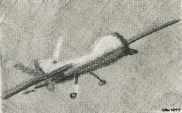 U.S. Predator drone, like the one used in Yemen to kill Anwar al-Awlaki