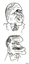 Turkish Prime Minister Erdogan hates when cartoonists caricature him