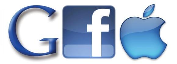 Google versus Facebook versus Apple