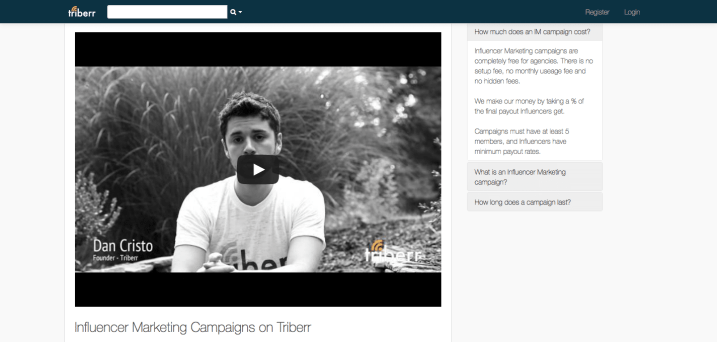 Influencer Marketing Campaigns - Triberr