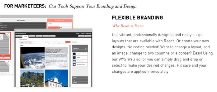 Readz branding