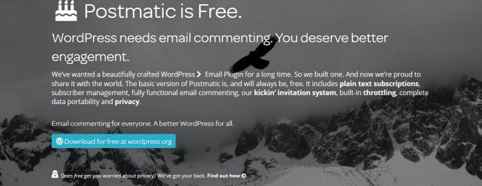 Postmatic free