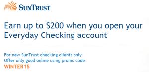 Suntrust Bank 200