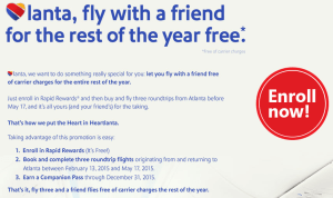 Atlanta Companion Pass Offer