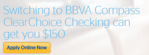 BBVA Compass ClearChoice Checking