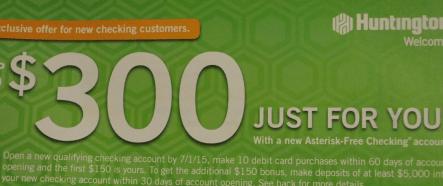 Huntington Bank  300