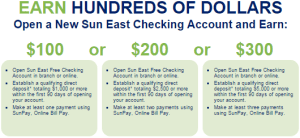 Expired Sun East Federal Credit Union Up To 300 Bonus Danny The