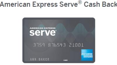 Amex Serve Cash Back