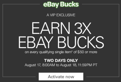 eBay Bucks 3x