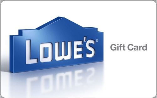 Discounted Lowe's Gift Cards